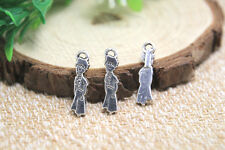 30pcs little prince Charms Antiqued Silver Tone little prince pendants 22x6mm