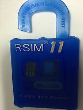 NEW RELEASED UNLOCK SIM CARD R-SIM 11 for iPhone 4S, 5, 5G, 5S, 5C,6, 6P