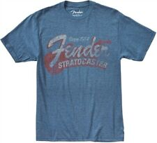 Genuine Fender since 1954 Strat T-Shirt, Blue, M-3XL