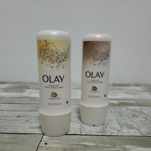 Set of 2 Olay Rinse-Off Body Conditioners - B3 Coconut Oil & B3 Shea Butter 8 oz