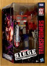 Transformers Hasbro War for Cybertron Siege Voyager Optimus Prime