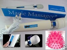 Wand Powerful Full Body Magic Massager 30 Speed free tingle tip Attachment