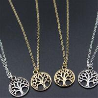 1PC Fashion Women Jewelry Retro Tree of Life Alloy Charm Pendant Necklace