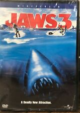 Jaws 3 (Dvd, 2003) New Sealed