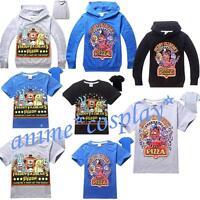Fnaf Kids Boys Girls Five Nights at Freddy's Hoodies Sweatshirts T-ShirtsTop NEW