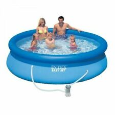 Intex 8ft Easy Set Round Swimming Pool with Pump Filter PADDLING ABOVE GROUND