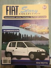 """FIAT STORY COLLECTION """" FIAT CINQUECENTO ELETTRA """" HACHETTE FASCICOLO"""