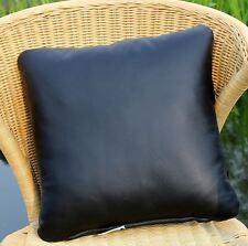 réel cuir coussin 40x40 en Chaise de salon Housse canapé sentir-bon oreiller