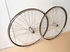 "EXAL SUPER LIGHT SL19 MTB HYBRID WHEELSET 26"" SHIMANO HUBS 8/9/10 SPEED DT SPOKE"