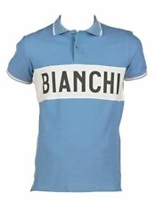 BIANCHI L´EROICA  Vintage Poloshirt hellblau celeste