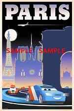 "Disney - Pixar - Cars (11"" x 17"") Collector's Poster Print ( T8 ) - B2G1F"