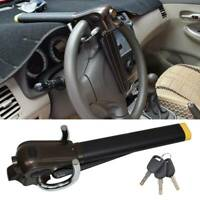Portable Car Steering Wheel Anti Theft Security Airbag Lock Safe Device + 3 Key