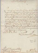 1805 a CONTESSA VALLEMANI ROMA-FABRIANO-firma AUTOGRAFA CARDINALE BRASCHI-f57