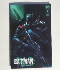 Batman Who Laughs 2 DC Francesco Mattina Trade Variant Scott Snyder Jock Joker