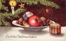 BG20279 festive table candle star fir branch   weihnachten christmas  germany