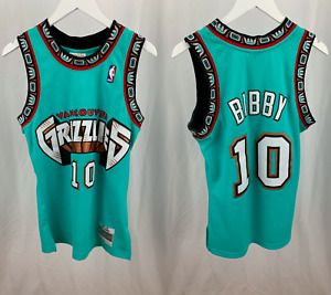 Mike bibby #10 Vancouver Grizzlies 1998-99 Jersey Stitched With Tags