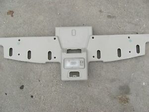 LAND ROVER DISCOVERY II OVERHEAD CONSOLE . 1999 2000 2001 2002 2003 2004