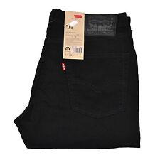 Levis 514 Jeans Straight Leg Levi's Slim Denim Mens Dark Medium Light Blue Black