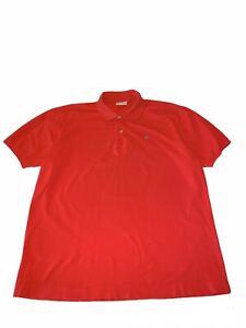 Ben Silver Men's Palmetto Polo Shirt Coral Cotton Picque Size XL S118
