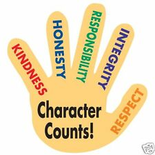 """""""Character Counts!"""" Hand Stick-A Decals (Restickable) Package of 112 New/Hot!"""