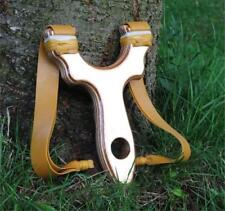 Hunting Catapult with Powerful Double TheraBand Gold Bands.    slingshot  catty