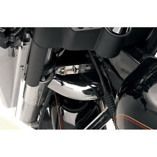 Lower Triple Tree Wind Deflector Front Fork Air Baffle For Harley Touring