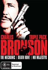 Charles Bronson - Triple Pack (DVD, 2009, 3-Disc Set) - Region 4