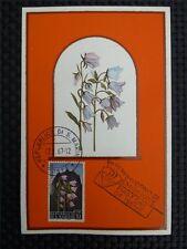 SAN MARINO MK 1967 FLORA BLUMEN FLOWERS MAXIMUMKARTE MAXIMUM CARD MC CM c1383