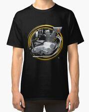BSA Rocket 3 Vintage Urbain Rétro Moteur Moto T-shirt inished Productions