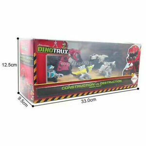 Mattel Dinotrux Construction VS. Destruction Mega Pack Diecast Dreamworks Toy