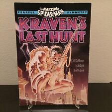 Marvel Amazing Spider-Man Fearful Symmtery Kraven's Last Hunt TPB 2nd Print