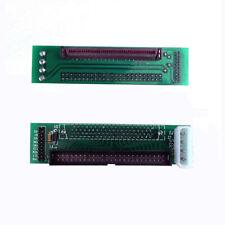 SCSI SCA 80 PIN to 50 PIN SCSI Adapter SCA 80 PIN to IDE 50 Stecker Konverter 1x