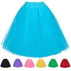 Vintage Women Layers Swing Layered Petticoat Underskirt Tulle Layered Tutu Skirt