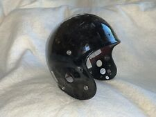 GAME USED / WORN VINTAGE SCHUTT PRO AIR II FOOTBALL HELMET - LARGE - Black!!!