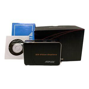 AGPTEK HD Video Capture VG0019 Screen Recorder 1080P HDMI Game Box NO CORDS