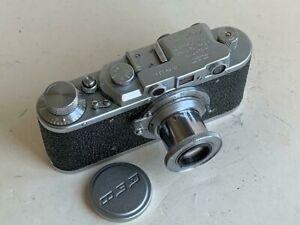 FED 1 NKVD USSR,  FED lens f3.5/50,