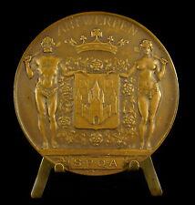 Medaille Antwerpen SPQA Senatus Populusque Antwerpiae G Roth 1936 Belgique Medal