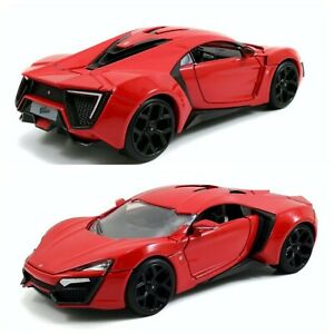 1/24 Jada Lykan Hypersport Red Fast & Furious Livraison Colissimo Domicile