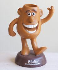 """Ritalin Man Advertising Figure - Pills Add Adht medication medicine Rubber 6"""""""
