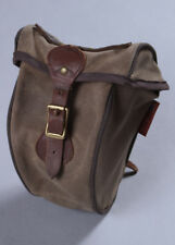 Frost River Echo Trail Waxed Canvas Seat Bag - Cotton Leather Brass Bike Bag
