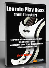 Learn to Play Bass from the Start - Video Tutorial Download
