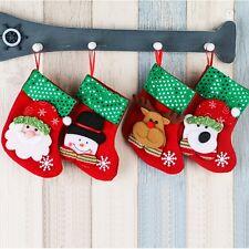 Christmas Snowman Socks Cute Ornaments Festival Party Xmas Tree Hanging Decor