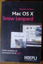 Hoepli - Mac OS X - Snow Leopard - Massimo Carboni