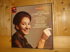MARIA CALLAS Rossini Il Turco in Italia GAVAZZENI EMI UK 2 LP BOX SLS 5148 MINT