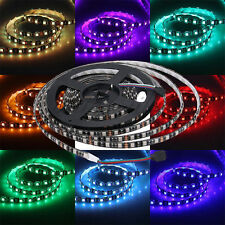 5M 16.4ft 5050 SMD RGB Non-Waterproof 300 LED 60leds/m Strip Light 12V