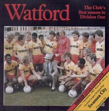 Watford v Swansea City 7 September 1982 - Official Matchday Programme