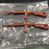 Vintage Gi Joe 1960s 1970s Hasbro M1 Carbine Rifle Gun Lot Of 2