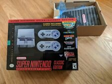 BOX ONLY - Super Nintendo Entertainment System SNES Classic Mini Edition Nice!