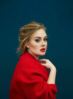 Poster A3 Adele Cantante Singer Famous Cartel Decor Impresion 01