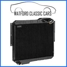 NEW MGB Radiator Late Type 1977 onwards with electric Fan